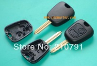 Peugeot Remote Key Shell SX9 Blade 2 Button