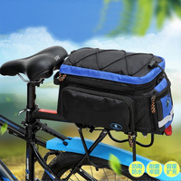 Bicycle Ride Bag Mountain Bike Pack Package Camel Bag on Back Rack Rainproof Waterproof BA05