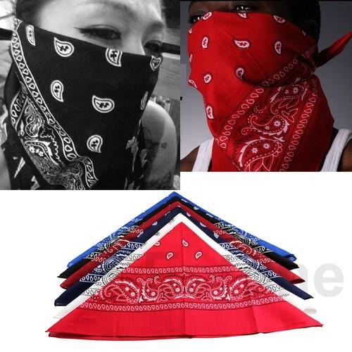 W110Hot Selling 1 pc Cotton Scarf Paisley Bandana HeadWrap Hair wrap Double Side Print Headband 6Color(China (Mainland))