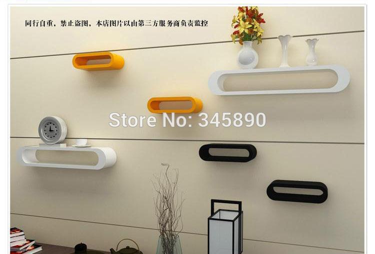 Free shipping Fashion shelfwall wall floating shelf hanging on wall New arrival 3pcs wall hanging shelf partition wall shelf,(China (Mainland))