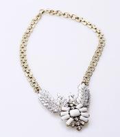 5 pcs/packs jewelry women necklace pendant luxury vintage glass gem acrylic  statement bird phoenix alloy  free shipping