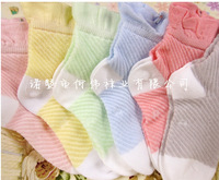 2014 Kids sock Children comfortable Top Quality Thin New Baby Spring Breathable cotton socks 48pc