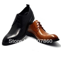 2014 free shipping  Fashion men's leather shoes