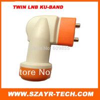 2pcs*High Quality!Universal Ku-Band Twin LNBF Dual LNB free shiping