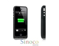 New 2014 2500 mAh Slim Black Backup Battery Pack Portable External Charger Power Bank Power Supply Bateria Externa for iPhone 5s
