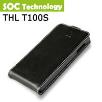 Original THL T100S leather flip case 5.0 inch High Quality PU Leather Case/Amy