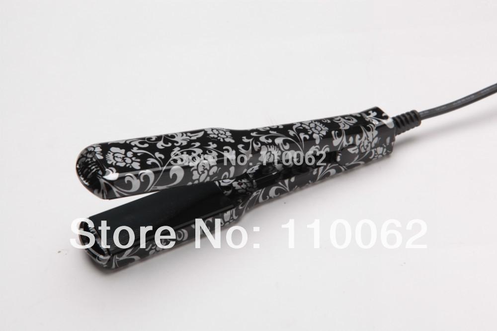 Hair iron professional tourmaline nano titanium flat iron(China (Mainland))