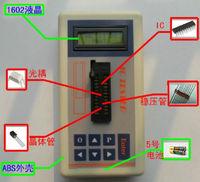 New Transistor Tester Detect IC Tester Meter Maintenance Tester MOS PNP NPN