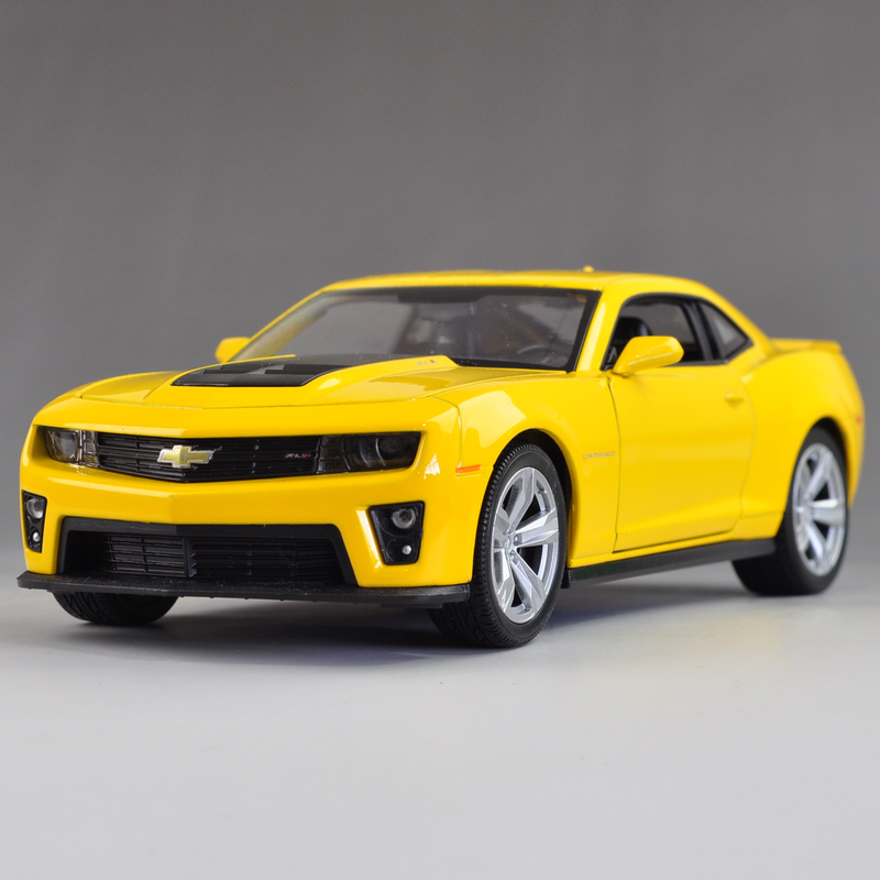 1:24 CHEVROLET CAMARO ZL1(DIE CAST MODELS)(China (Mainland))