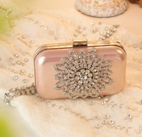 kaki women clutch forever new diamond flower bag women handbag day clutch rhinestone stone bag wedding/evening/prom bag