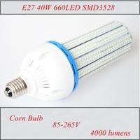 1pc E27 40W 660LED SMD3528 Corn Bulb AC85-265V Warm White/White Efficient LED Energy Saving Lamp Saving 90%