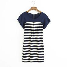 popular blue jersey dress