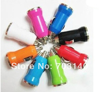 Car Charger power inverter USB for iPhone4 4S 5 5S Samsung Galaxy S3 S4 iPod Cell Mobile Phone Charger Adapter+retail package