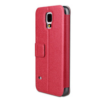 PU Leather Case For Samsung Galaxy S5 i9600 Luxury Leather Cover With Stand Mobile Phone Bags&Cases New Arrivel 2014 Accessories