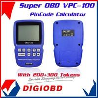 VPC-100 Car Pin Code Calculator VPC100 Car key PinCode Reader Super OBD VPC 100 Pin Code Reader With 200+300 tokens