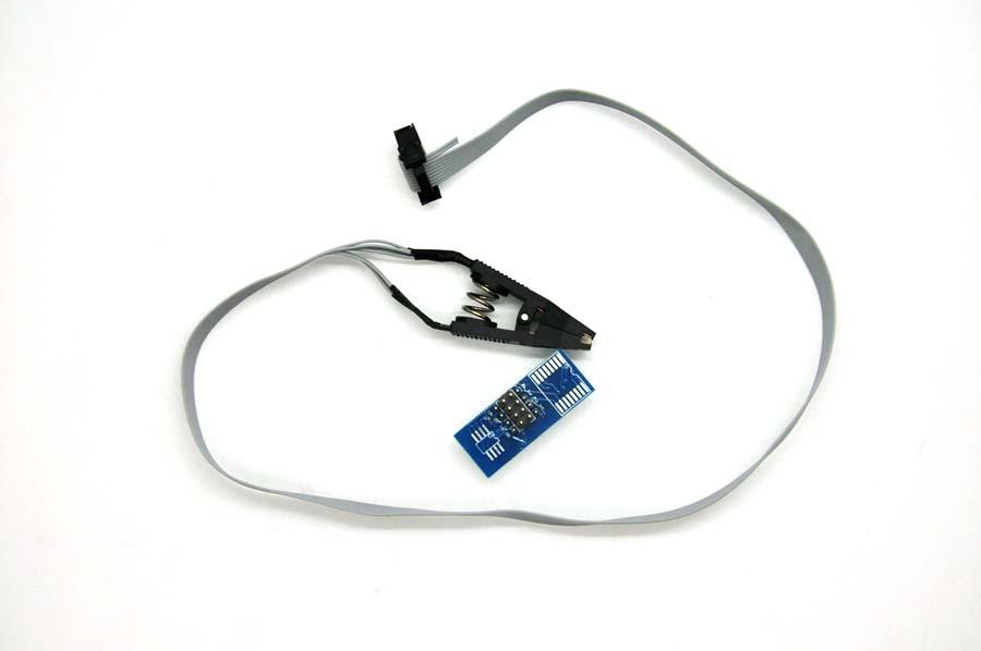 NEW SOIC8 SOP8 flash chip IC Test Clips socket adpter BIOS/24/25/93 programmer free shipping(China (Mainland))