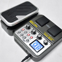 188 Guitar Multi Effects Pedal 58 Effects 6-band graphic EQ Built-in drum machine 72 presets EFX Nux MG100 Guitar pedal effects