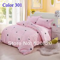 Pink dandelion Fashion Bedding Set Full Queen King size Bedding sets Comfortor Bed Sheet Duvet cover set  pillowcase Home decor