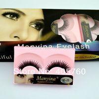 Beautiful Fake Eyelashes Adhesive included C curl color eyelashes for eyelash extension  free shipping M25