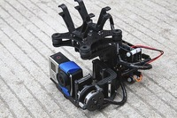 3 Axis Gopro Carbon AlexMos Brushless Gimbal Camera Mount w/Motor & Controller