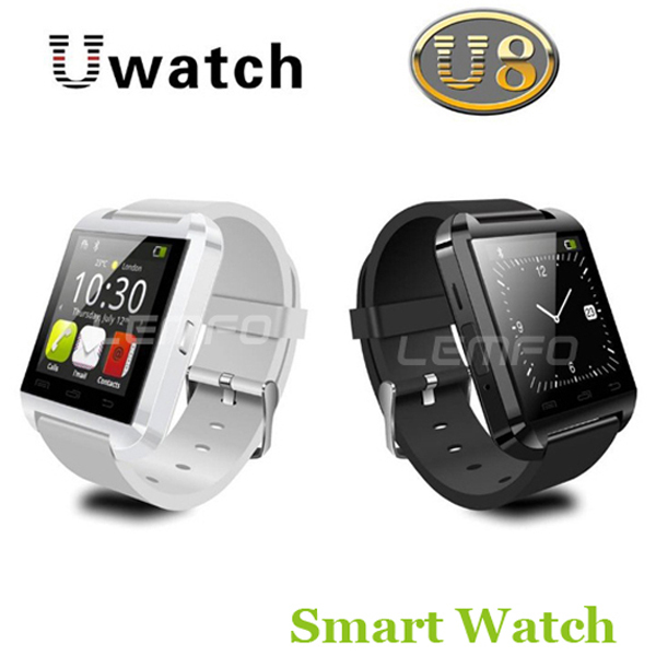 Bluetooth Smart Watch WristWatch U8 U Watch for iPhone 4S/5/5S/6 Samsung S4/Note 2/Note 3 HTC Android Phone Smartphones(China (Mainland))