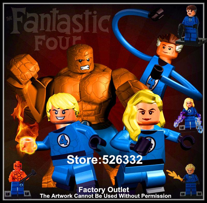 Fantastic Four The Thing Toy Fantastic Four Toys 4pcs Set