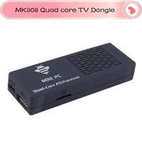Free Shipping In Stock MK908 RK3188 Quad Core Android 4.2.2 Mini PC TV Box 2G RAM 8G rom Bluetooth 4.0 tv dongle Google TV Stick