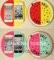 3D Victoria/'s Pink Secret Unique Shape Watermelon Fruits Case For iPhone 5 5S With Retail Bag