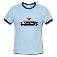 Heisenberg Parody 2015 New Cotton men's 100% Cotton Short Sleeve Tops