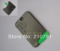 Renault Laguna II Espace Vel Satis 3 button remote key fob card case  with smart blade
