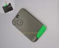 Renault Laguna II Espace Vel Satis 2 button remote key fob card case  with smart blade