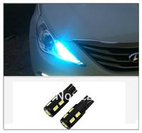 2pcs/lot Samsung 10 SMD 5630 High power LED SMD T10 194 W5W W16W door lights license plate light White12V