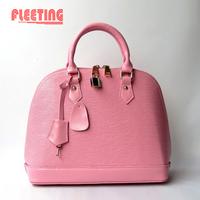 NEW 2014 Summer Fashion Candy-colored Bag Women Messenger Bags Genuine Leather Shoulder Bags Shell Bag Women Handbag