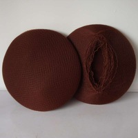 "Nylon Hair net  fines hair net  brown color 144pcs/lot  with ""Elastic edge"""