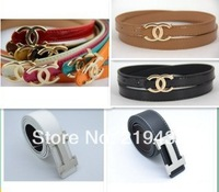 2014 new fashion Men's Fashion Faux Leather Premium Shape Metal Strap Ceinture Buckle Belt colors Free shipping