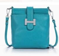 2014 New Casual Handbags Genuine leather Shoulder Bags Women Purses 5 Colors Messenger BAG