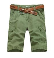 2014 male casual linen shorts plus size Men trousers loose fluid summer shorts linen