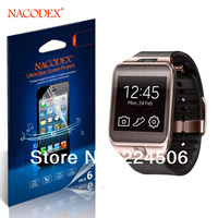 6Pcs Nacodex Supershieldz HD Clear LCD Screen Protector Cover Guard For Samsung Galaxy Gear 2 gear2 ii Free shipping