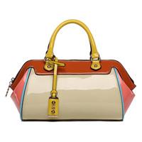For oppo   women's handbag 2014 women's handbag small bag cross-body candy color japanned leather women's handbag one shoulder