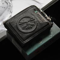 Detachable Card Holder Zipper Genuine Leather Wallet Men Wallets Brand Male Clutch Purses Cowhide Carteira Masculina TBG0114