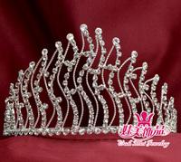fashion jewelry crystal rhinestone crown tiara pageant and bridal`s rhinestone crowns  522
