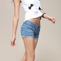 New 2014 Summer Women Female Jeans Shorts Denim Shorts Women European Style Single Summer Shorts for Women ST1000