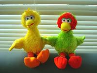 Sesame street big bird plush doll dolls toy 22cm tall birthday gift toys and children's products