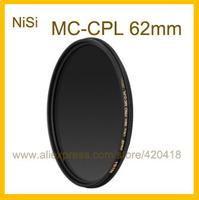 62mm Circular Polarizer Polarising Lens Filter Ultra Slim Multi-Coated PRO MC CPL for Canon Nikon Fujifilm Pentax Panasonic