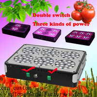 Free Shipping Dual Switching Apollo 6 led grow light   lighting grow lamps power mode For Indoor Plants Hydroponic System