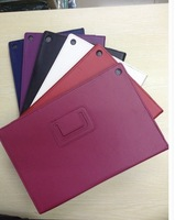 20pcs/lot Free Shipping stand leather Lychee leather stand Case for Sony Xperia Z2 Tablet