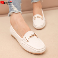 Women flats, 2014 spring chain platform wedges platform fashion work shoes single shoes comfortable casual shoes female shoes