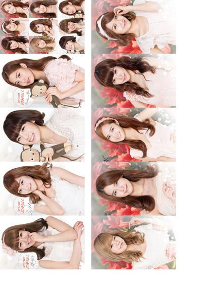 SNSD Girls Korean custom peripheral card 18 models Crystal Apple phone sticker affixed to 10(China (Mainland))