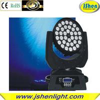 36*10w led zoom moving head light