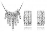 Yiwu accessories delicate full rhinestone classic stud earring - - g014